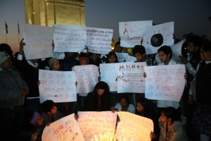 Silent_Protest_at_India_Gate