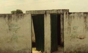 गाँव और कस्बों में शौचालयों की हालत