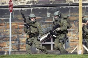 कनाडा के संसद पर हमला