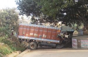 karvi taza - accident