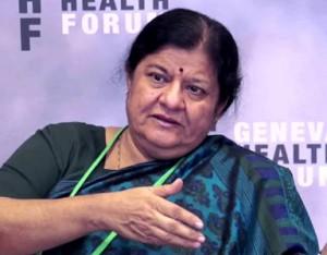 डॉक्टर मीरा शिवा (फोटो साभार: जेनीवा हेल्थ फोरम)