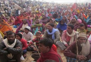 सोनभद्र में कार्यकर्ता गिरफ्तार