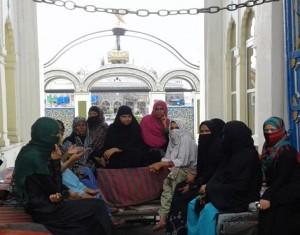 इमामबाड़ा खुला पर हड़ताल जारी