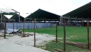 मोदी के स्वागत में बरबाद हुआ डीरेका स्टेडियम