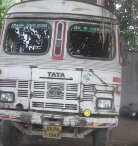 ट्रक के टक्कर से दुई घायल एक कै मउत