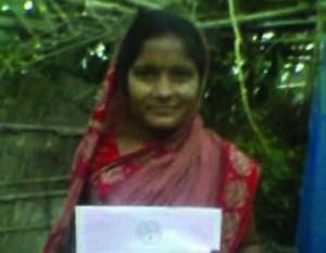 बैद्यनाथपुर गांव के आशा आशा देवी