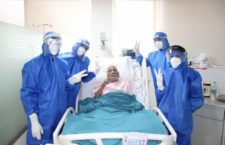 97 years old Mr Gupta a Covid19 patient discharged hail & healthy