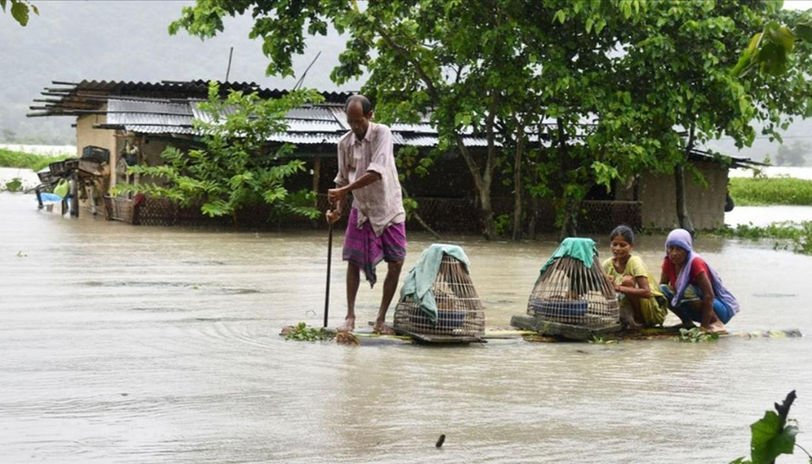 Assam floods and Corona double hit, watch the poetry show