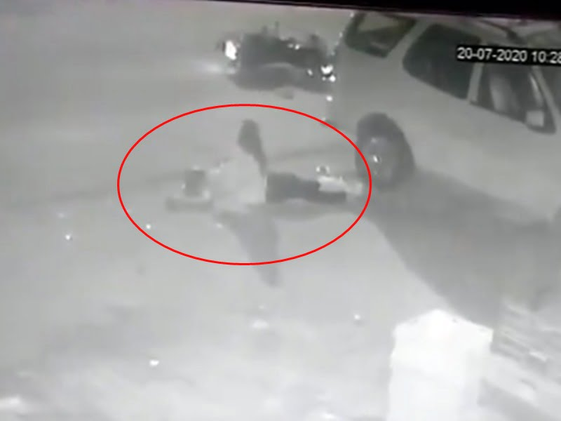 Ghaziabad journalist Vikram Joshi killed by UP government cctv footage