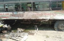 Mahoba: Dumper and Bus's accidental accident, two dozen people injured