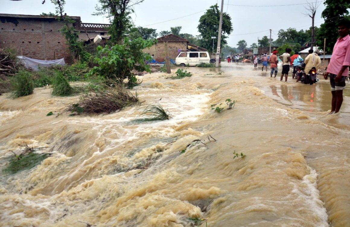 bihar flood 2020