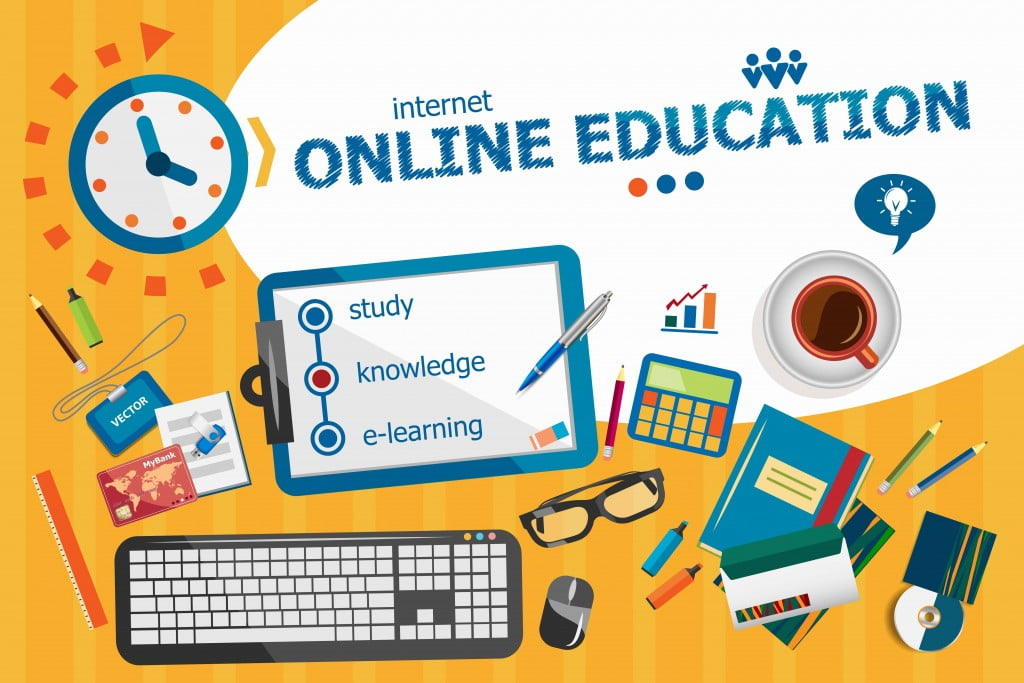 online education condition in india
