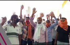 Farmers rotating for one year for compensation of crop