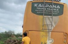 Bus in Agra hijacked recovered from Etawah