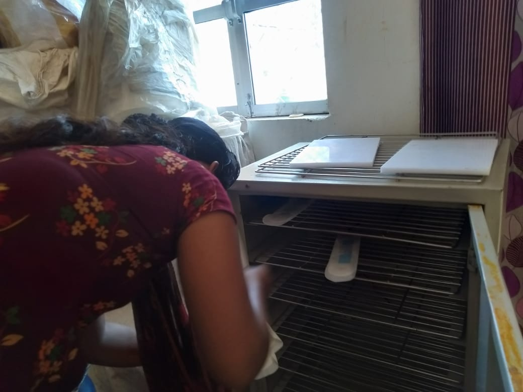Sanitary pad machine installed under Stree Swabhimaan Scheme