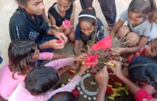 girls celebrated the Mahabulia tradition with great pomp