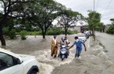 हैदराबाद में बारिश का कहर