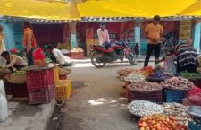 there is no public toilet in vegetable market