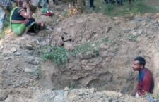 After a year, the dead body was excavated from the grave