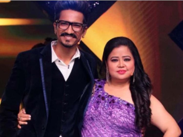 comedian bharti and her husband harsh arrested on the behalf of drugs