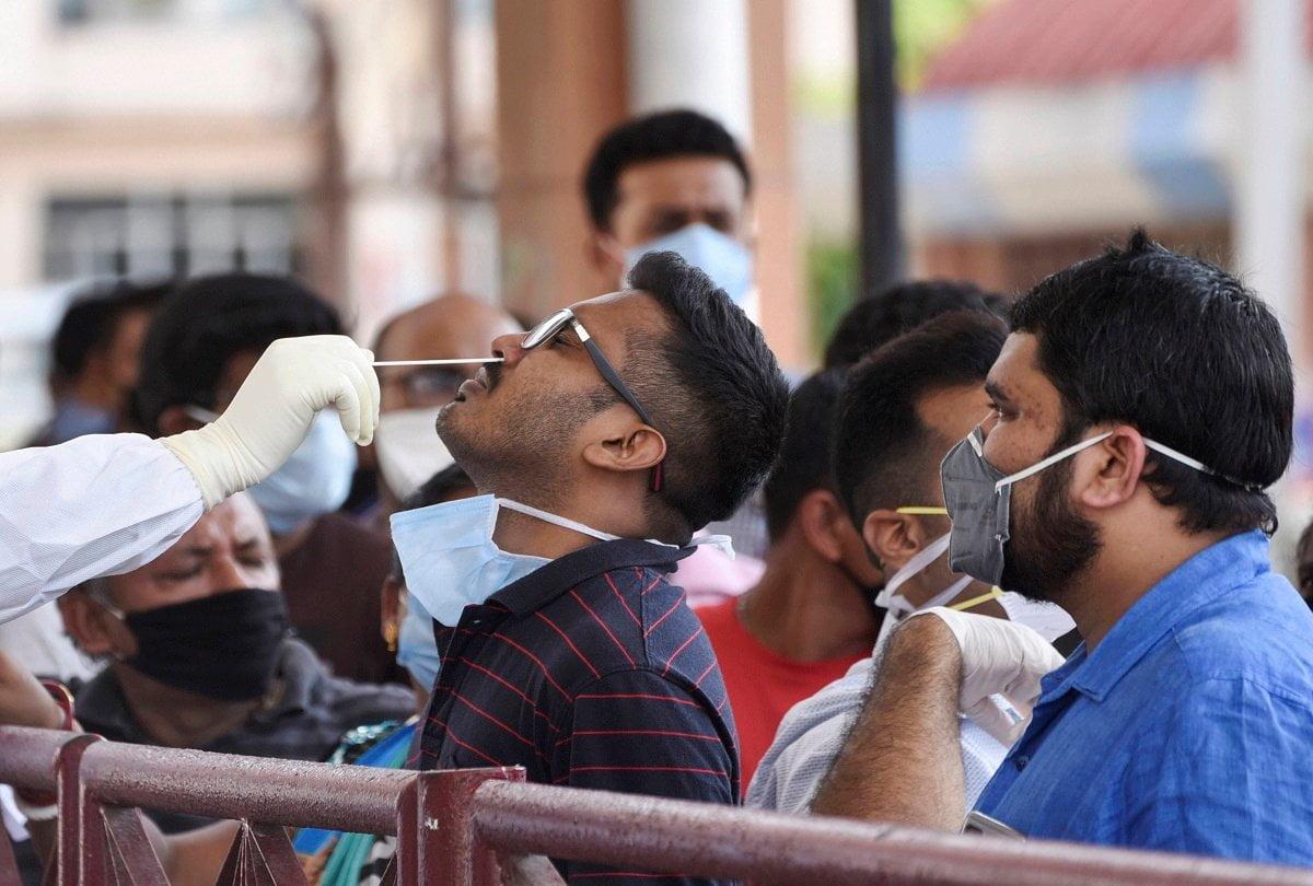 1 lakh test in 16 days in delhi