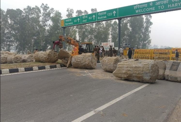 farmers protest reached delhi
