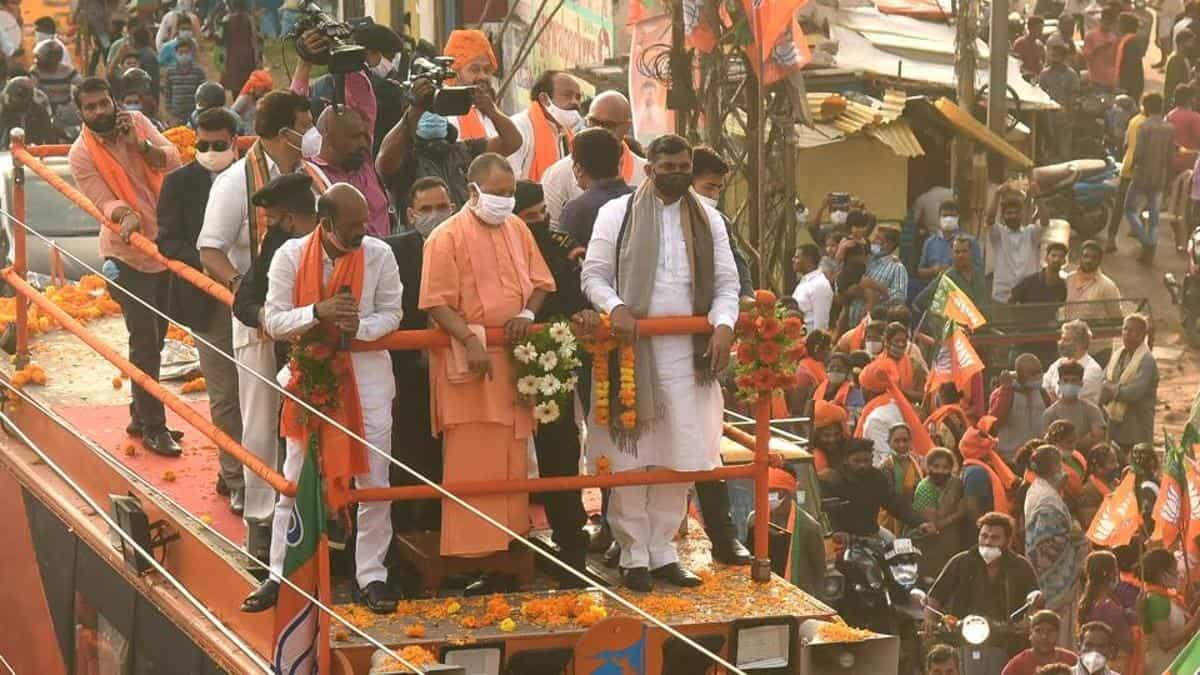 CM Yogi said that Hyderabad renamed to 'Bhagyanaga