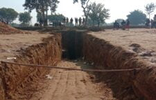 A 3-year-old girl was killed after falling in a borewell