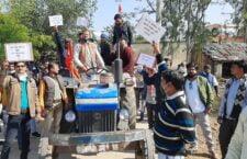 Railway department has done tribunal on farmers' land
