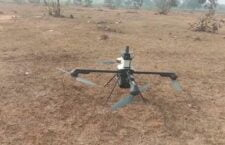 Surveillance being carried out with the help of drone cameras in Goia Kala