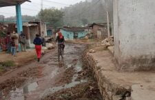 Panna: Village road demolished for 10 years - mud in place