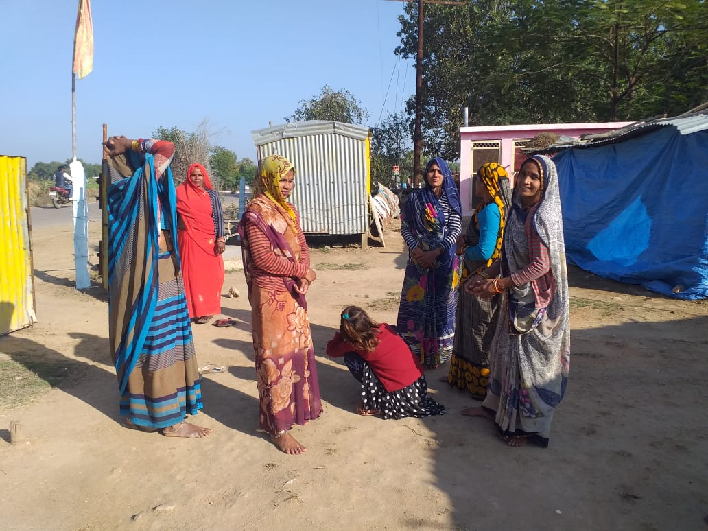 The farmers of Kyolari village are waiting for compensation