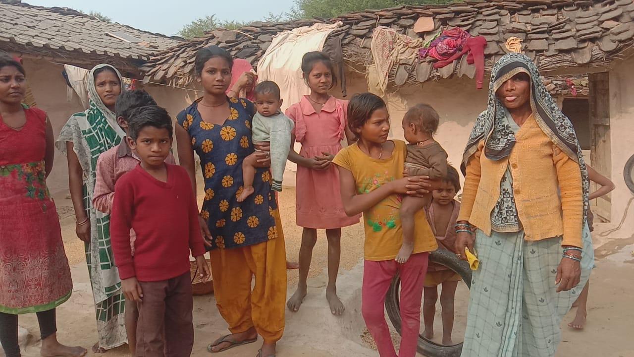 Cultivation of farmers immersed in Gunta Dam,