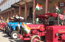 Tractor rally taken out by Congress party