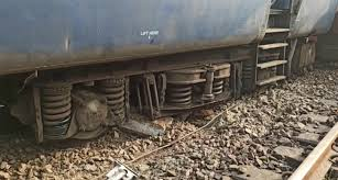 wo bogies of the Shaheed Express derailed