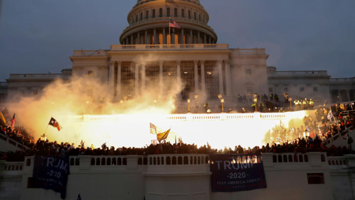 Trump's supporters attacked the US Capitol