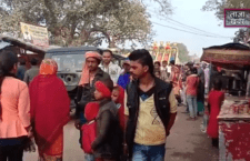 To see the beauty of the famous Bharatkup fair, people gather
