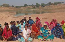 Women sit on hunger strike against illegal mining