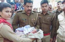 Newborn girl found in Bandhoin Devi temple