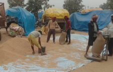 Farmers happy to come to paddy procurement center