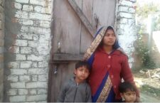 What kind of court order in which a woman with innocent children is evicted from home?