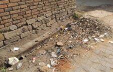 Dirt spread in villages and neighborhoods, villagers get upset