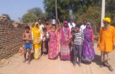 1 hand pump between 200 families