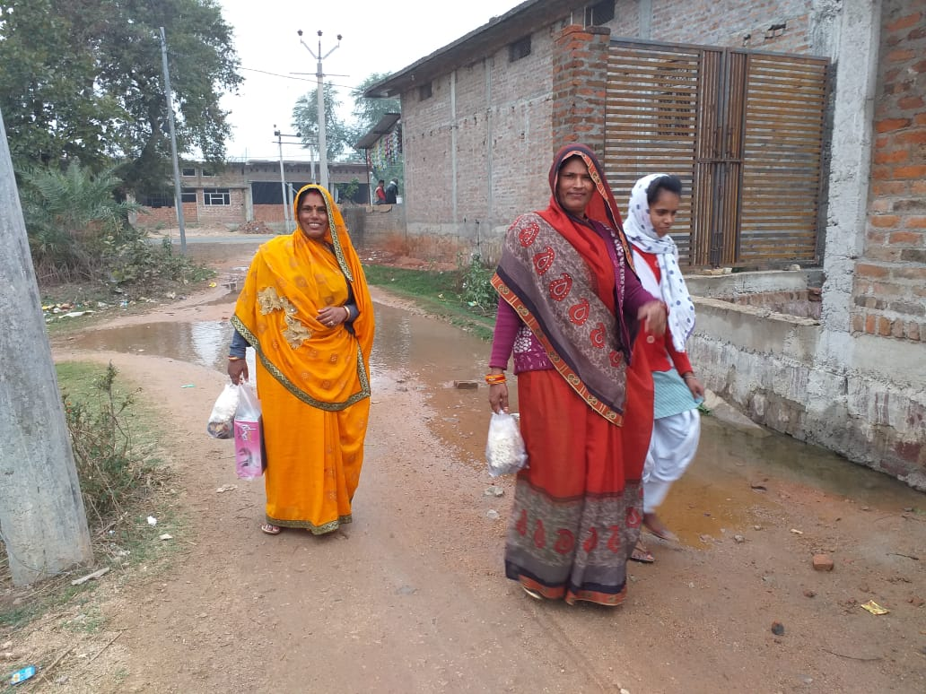People are facing problems due to non-construction of RCC road