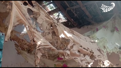The room where Bhola Arakh and his young love were murdered by her family in August 2020
