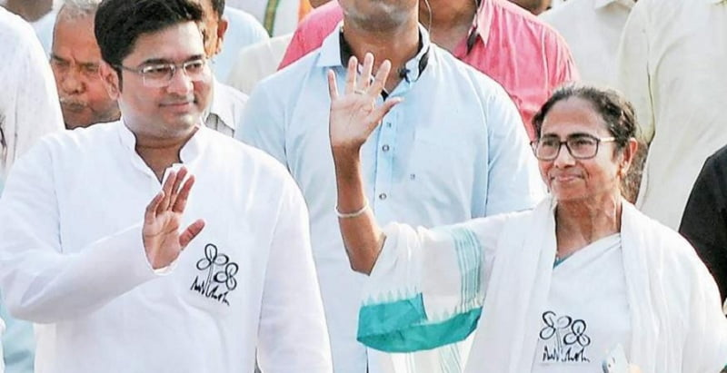 Abhishek Banerjee's wife Rujira received notice