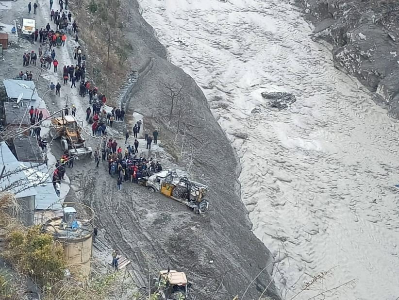 Loss of life and property due to avalanche in Uttarakhand, Chamoli