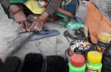 Hyderganj's Kritali nurtures the family by working as a cobbler