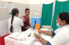 corona vaccination site of Banda District Hospital
