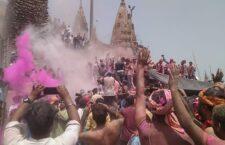 Holi of ash from Dashashwamedh Ghat of Varanasi